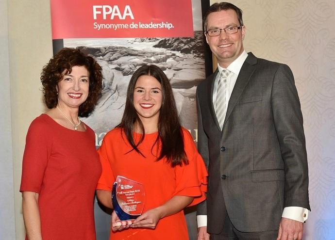 Alicia Bedrossian-Baillargeon, lauréate du volet général prix marcel tassé 2018